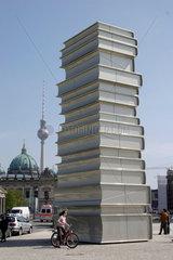 Germany. Berlin - Modern Book printing. Walk of ideas