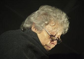 Miriam Auerbach  Zeitzeugin und Auschwitzueberlebende