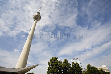 Germany  Berlin  the Fernsehturm (television tower)