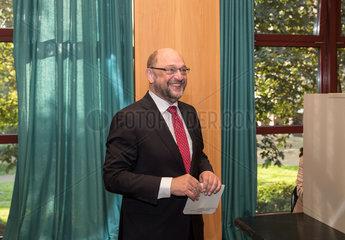 GERMANY-WUERSELEN-SPD-SCHULZ-VOTE