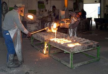 Stahlgiesserei in Bayern