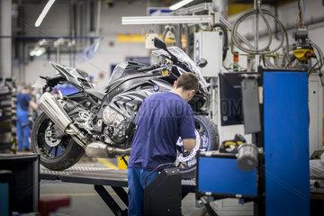 Motorradwerk von BMW