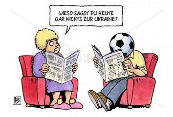 Ukraine und Fussball