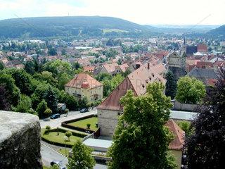 Stadtansicht von Kronach