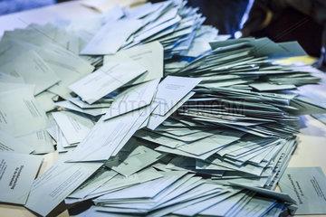 Rekord bei den Briefwaehlern