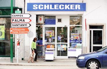 Schlecker-Markt auf Mallorca
