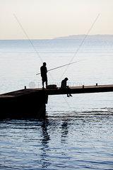 Angler Bootssteg