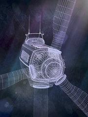 Windrad 3d CGI Konzept