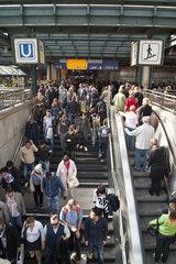 U-Bahn Eingang