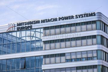 Mitsubishi Hitachi Power Systems Europe  Innenhafen Duisburg  Ruhrgebiet  Nordrhein-Westfalen  Deutschland