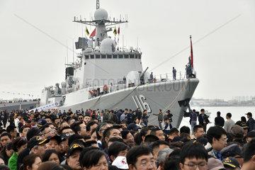 CHINA-QINGDAO-PLA NAVY-70TH ANNIVERSARY-OPEN DAY (CN)