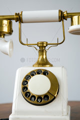 Berlin  Deutschland  antikes Telefon