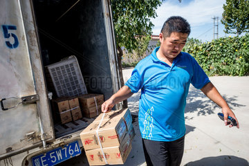 CHINA-HEBEI-RURAL ECONOMY-E-COMMERCE-INTERNET PLUS (CN)
