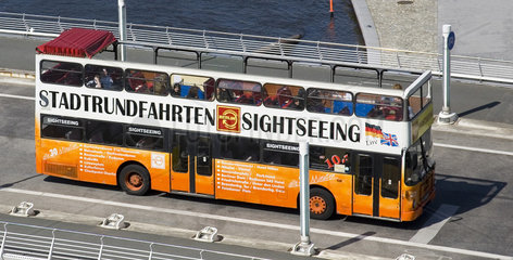 Berlin- Touristenbus