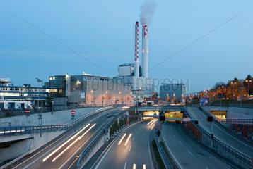 Basel  Schweiz  Kehrichtverwertungsanlage Basel