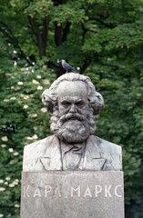 Karl-Marx-Denkmal in Kaliningrad  Russland