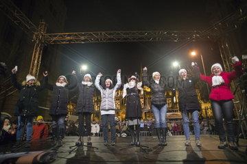 Proteste gegen neues Arbeitszeitgesetz in Ungarn