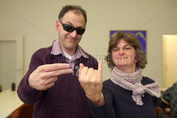 Taktile Kommunikationsgruppe des Blinden- und Sehbehindertenvereins Koeln e.V.