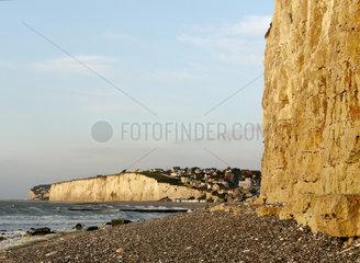 Kreidefelsen in Le Tréport  Normandie