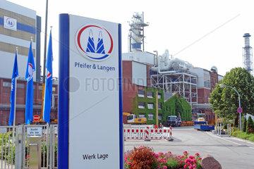 'Pfeifer & Langen' Zuckerfabrik in Lage