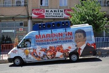 Wahlkampf in der Tuerkei Juli 2007