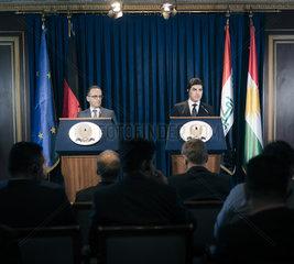 BM Maas reist nach Kuwait und Irak