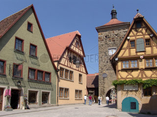 Stadttor  Rothenburg ob der Tauber