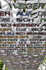 Denkmal fuer Opfer der deutschen NS-Militaerjustiz in Koeln
