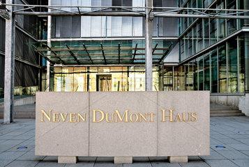 Neven DuMont Haus  Presse- und Verlagszentrum  Koeln