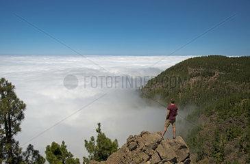 Passatwolken im Teide-Nationalpark