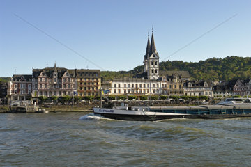 Rheinansicht der Altstadt von Boppard