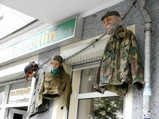 Militaria-Laden in Berlin-Kreuzberg