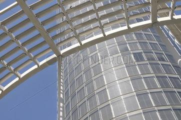 RWE-Tower  RWE Konzernzentrale in Essen