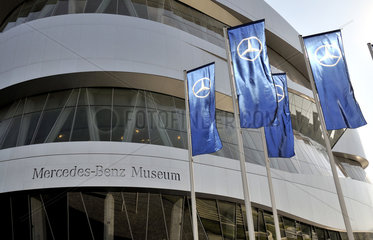 Mercedes Benz-Museum  Stuttgart