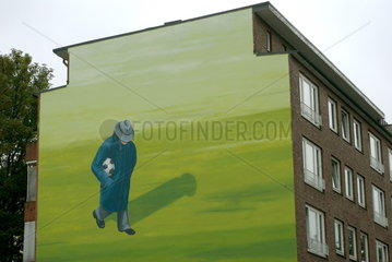 Wandmalerei in St. Georg