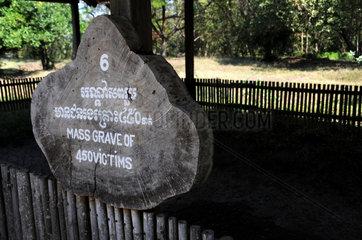 Killing Fields Gedenkstaette Phnom Penh