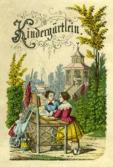 Kindergaertlein  Kindergarten  1855