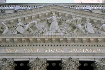 Boerse New York  Wall Street