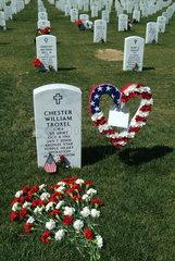 Soldatengraeber auf dem Arlington National Cemetery