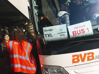 BVG Streik Tegel