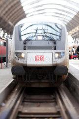 Steuerwagen eines Intercity der DB