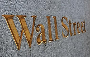 Wall Street  Boerse New York