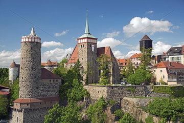 Ansicht der Altstadt von Bautzen