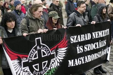 Neonazis in Ungarn