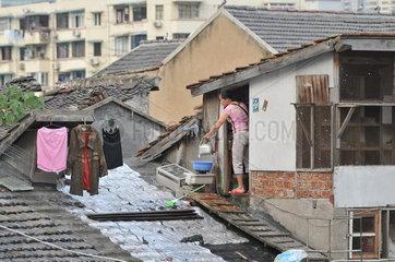Shanghai  Wohnraummangel