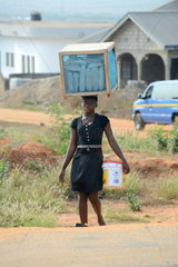 transporting baked goods in Accra