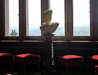 Einrichtung des Schloss Drachenburg bei Bonn