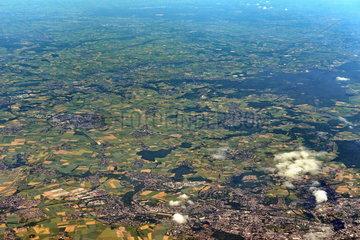 Luftaufnahme Koelner Bucht