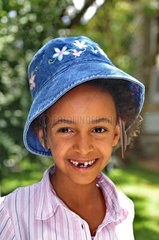 Kinderhilfsprojekt in Addis Abeba: Sch__lerin