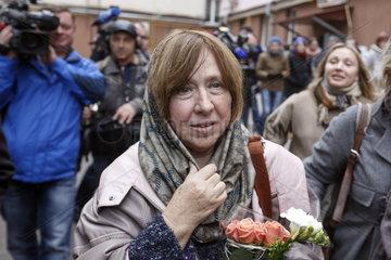 Swetlana Alexijewitsch Nobelpreistraegerin fuer Literatur
